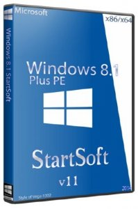 Windows 8.1 x86/x64 Plus PE StartSoft 11 (RUS/2014)