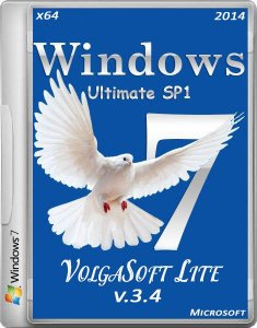 Windows 7 Ultimate x64 Lite by VolgaSoft v.3.4 (2014/RUS)
