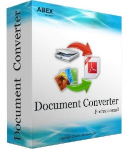 Abex Document Converter Pro 3.8 (2014/Rus) Portable