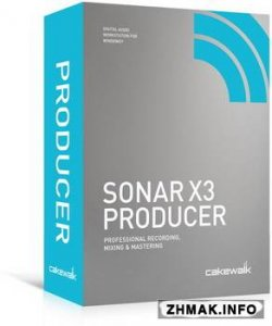 Cakewalk SONAR X3e Build 352 Producer + Rus