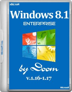 Windows 8.1 Enterprise With Update by Doom v.1.16-1.17 (x86/x64/RUS/2014)
