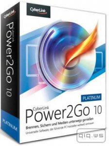 CyberLink Power2Go Platinum 10.0.1210 + Rus + Content Pack