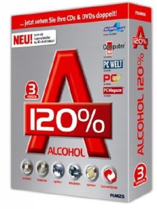 Alcohol 120% 2.0.3 Build 7612 Free Edition (ML/Rus/2015)